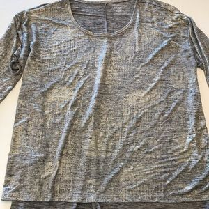 Lane Bryant silver snd gold lame' top